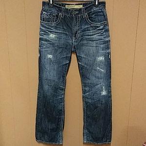 Big star Pioneer bootcut 36 r men's jeans 36x32